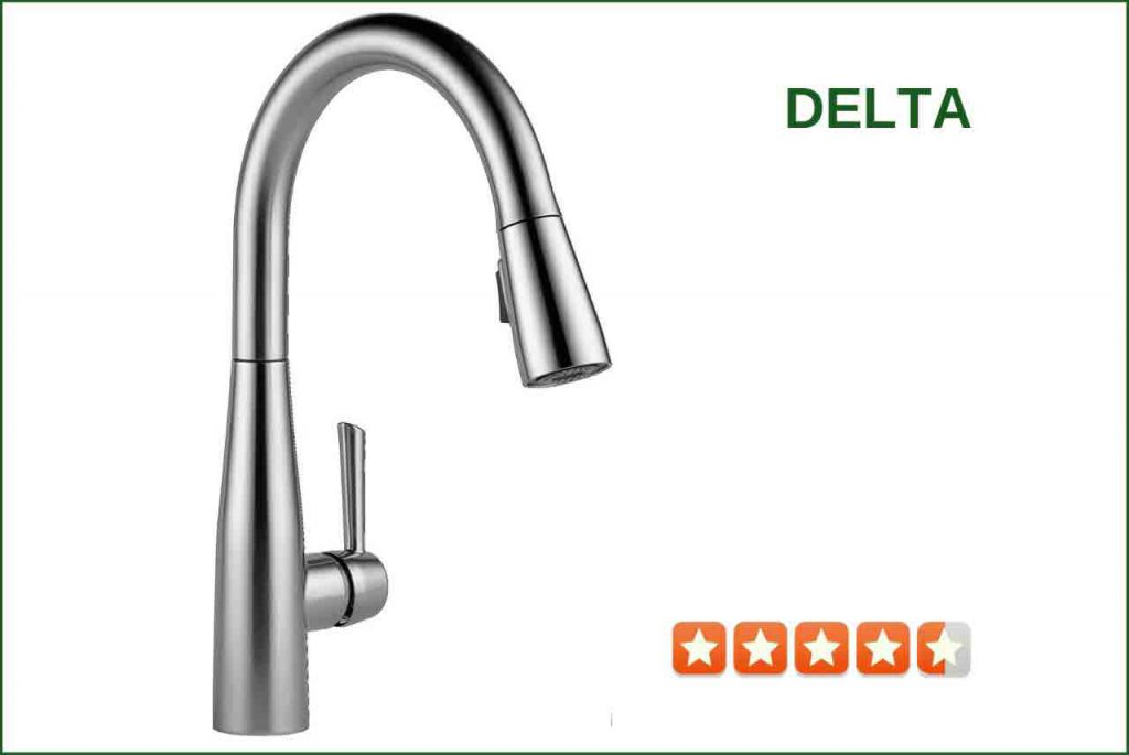 Delta 9113T-AR-DST Pull-Down Kitchen Faucet