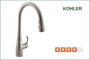 Kohler K-596-VS Pull-down Kitchen Faucet | Best Reviews for ...