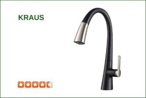 Kraus KPF-1673SFSMB Matte Black Kitchen Faucet
