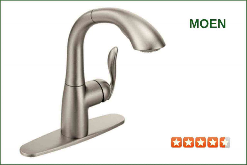 Moen 7294SRS Pull-Out Kitchen Faucet