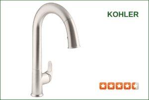 Kohler K-72218-VS Touchless Kitchen Faucet