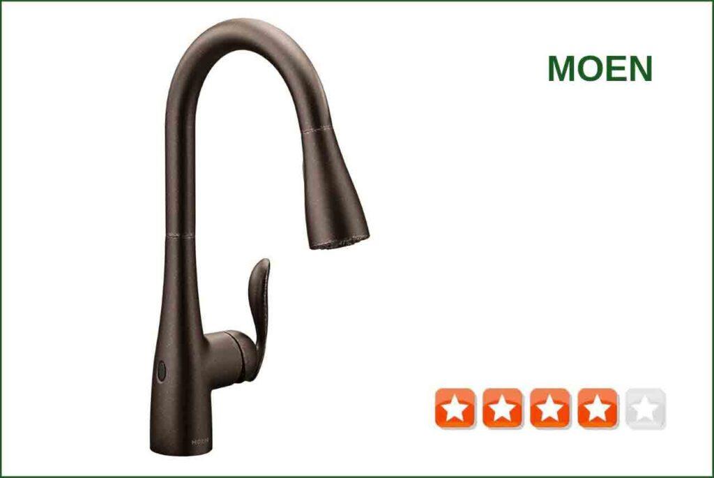 Moen 7594EWORB Touchless kitchen faucet