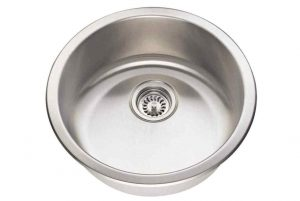 465 18-Gauge Dual-Mount Single Bowl Stainless Steel Bar Sink